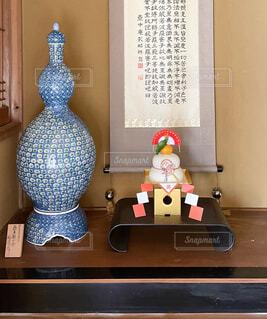 実家のお正月飾りの写真・画像素材[4038899]