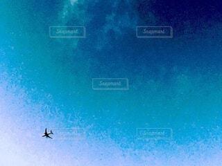 クリスマスの飛行機の写真・画像素材[4000013]