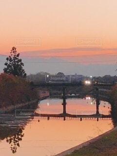 川の架け橋の写真・画像素材[4011212]