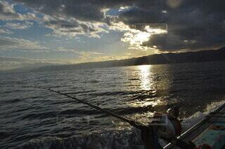 船釣りの写真・画像素材[3948227]