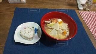 ヘルシーな朝食の写真・画像素材[3798444]
