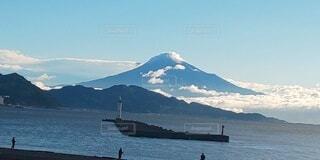 富士山の見える風景の写真・画像素材[3822169]