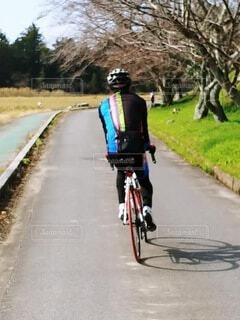 サイクリングの写真・画像素材[3802141]