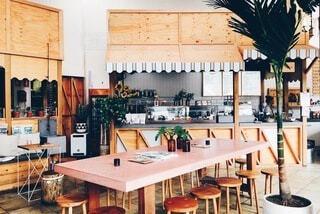 オーストラリアのカフェインテリアの写真・画像素材[3902999]