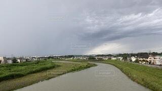 流れる川の写真・画像素材[3819592]