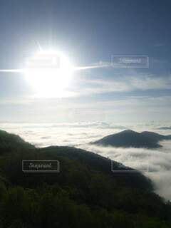 雲海の写真・画像素材[3815504]