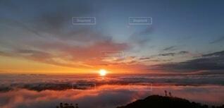 朝日,正月,雲海,お正月,日の出,新年,初日の出
