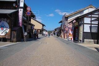犬山の城下町の写真・画像素材[3829082]
