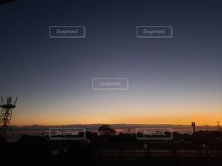 空,屋外,雲,夕暮れ,樹木,日の出
