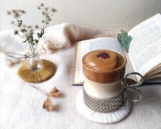 ふわふわもこもこダルゴナコーヒーの写真・画像素材[3966398]