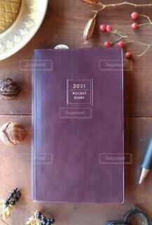父の手帳の写真・画像素材[4007368]