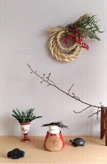 お正月のしつらいの写真・画像素材[4036833]