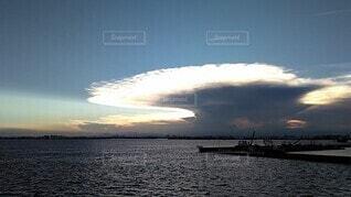 かなとこ雲の写真・画像素材[3839624]