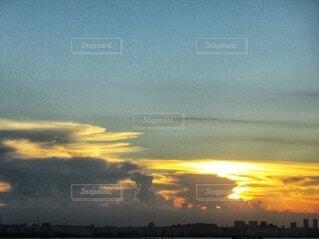 夕焼けのグラデーション。の写真・画像素材[4854433]