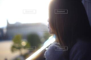 20代女性のクローズアップの写真・画像素材[3948113]