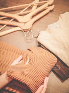 木製のテーブルの写真・画像素材[3902148]