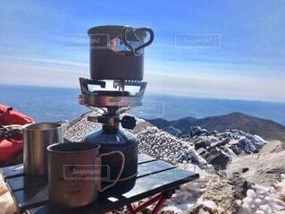 那須岳 茶臼岳頂上の写真・画像素材[3841224]