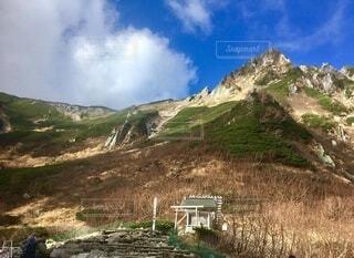 木曽駒ヶ岳 登山の写真・画像素材[3841225]