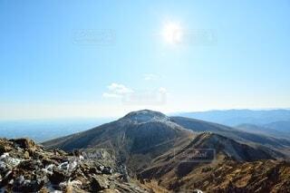 那須岳 登山 茶臼岳の写真・画像素材[3844117]