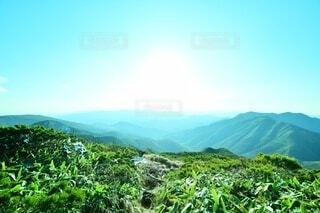 那須岳 登山の写真・画像素材[3844121]