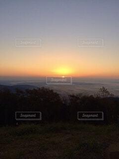 自然,風景,空,屋外,朝日,雲,山,景色,正月,お正月,日の出,新年,初日の出