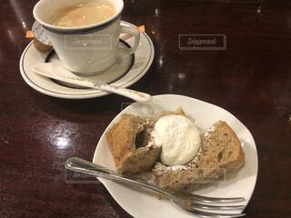 シフォンケーキの写真・画像素材[3867788]