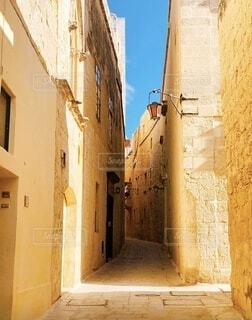 マルタの通りの写真・画像素材[3849280]