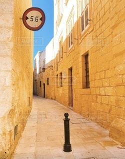 マルタの通りの写真・画像素材[3849282]