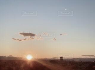 夕焼けの写真・画像素材[3850283]