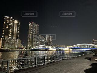 夜景の写真・画像素材[3929009]