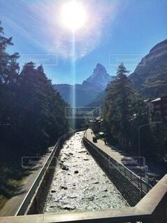 スイス、マッターホルンの写真・画像素材[3846293]