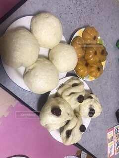 食べ物のクローズアップの写真・画像素材[3855147]