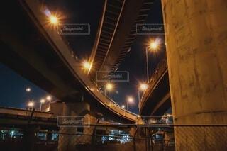 眠らない夜の写真・画像素材[4105114]