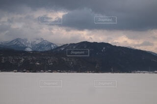 一面雪❄️の写真・画像素材[4147679]