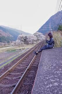 まだかな電車の写真・画像素材[4305679]