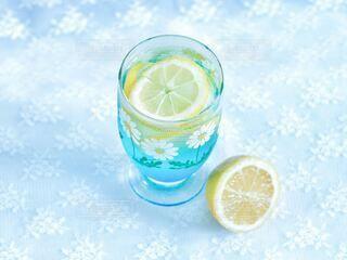 空色レモンソーダの写真・画像素材[3856214]