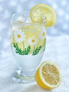 レモンソーダの写真・画像素材[3856213]