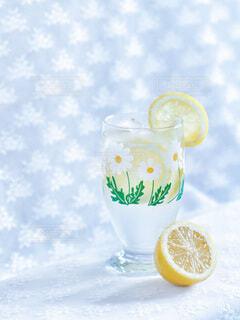 レモンソーダの写真・画像素材[3856215]