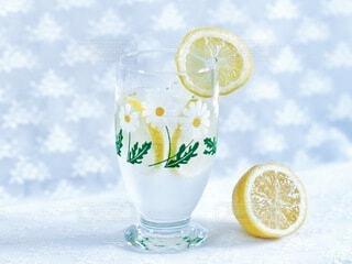 レモンソーダの写真・画像素材[3856216]