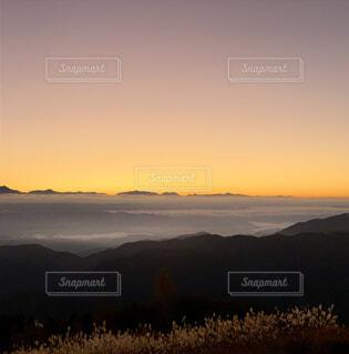 風景,空,太陽,朝日,山,旅行,正月,雲海,お正月,日の出,長野,新年,初日の出,阿智村,星空人気