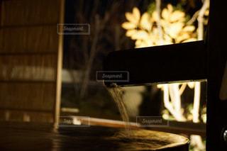 木製テーブルの写真・画像素材[751897]
