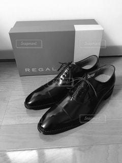 黒の靴のペア - No.958281