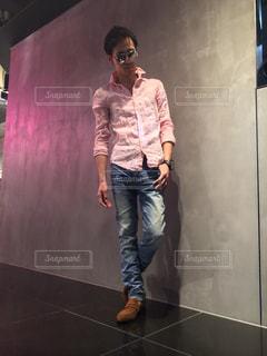 ステージに立っている人の写真・画像素材[1017777]