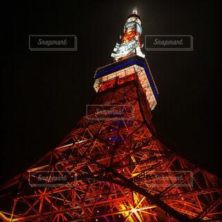 近くに東京タワーのの写真・画像素材[1195692]
