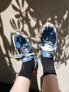 プレゼントの靴の写真・画像素材[4210132]