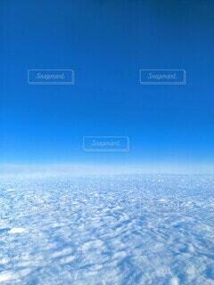 青空と雲のカーペットの写真・画像素材[3905532]