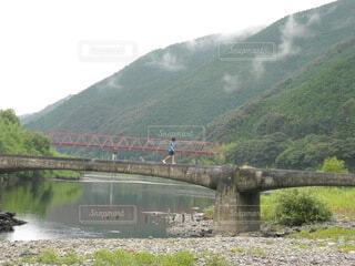 四国 四万十川にての写真・画像素材[3872804]