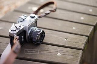 フィルムカメラの写真・画像素材[3971575]