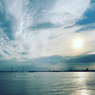 自然,風景,空,屋外,湖,ビーチ,雲,船,水面