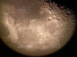 月のクローズアップ、アイキャッチ画像の写真・画像素材[4000178]